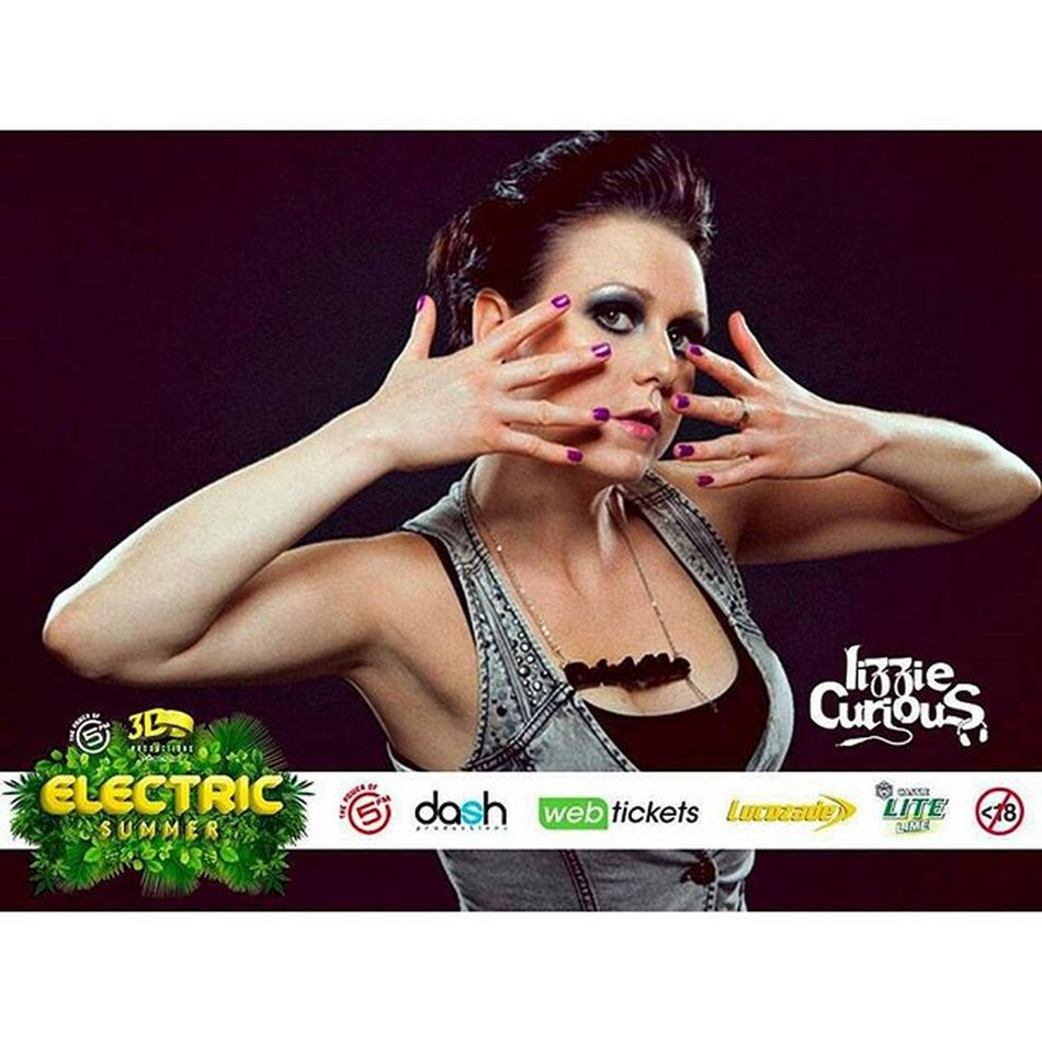 Contact me for tickets :) 061 231 1007 x @Regrann from @dash_productions - Electric Summer 2015 is amped to introduce London's own Lizzie Curious! Lizzie is a DJ, producer and songwriter whose infectious energy is in demand across the globe. A self-confessed house-addict, she is also renowned for her production talents - creating some original groove-fuelled tracks! DJ Paul Bingham and Lizzie have something super special in the mix for this year's festival... For Early Bird tickets, contact 084 990 4482 ElectricSummerSA LizzieCurious Dashproductions Regrann