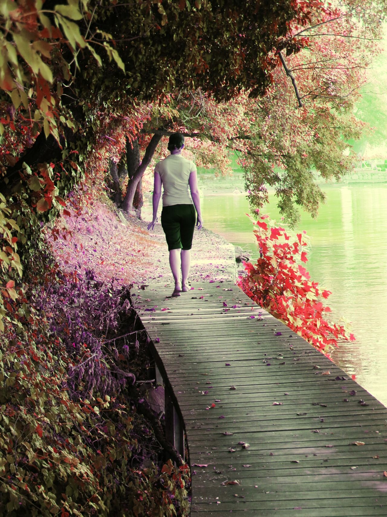 Walking Water Nature Women Tree Full Length Growth One Person Only Women Outdoors Adult Beauty In Nature Day Real People One Woman Only Adults Only People Freshness EyeEmNewHere EyeEm Gallery The Week Of Eyeem Holding Retro Styled The Week On EyeEem Photographing