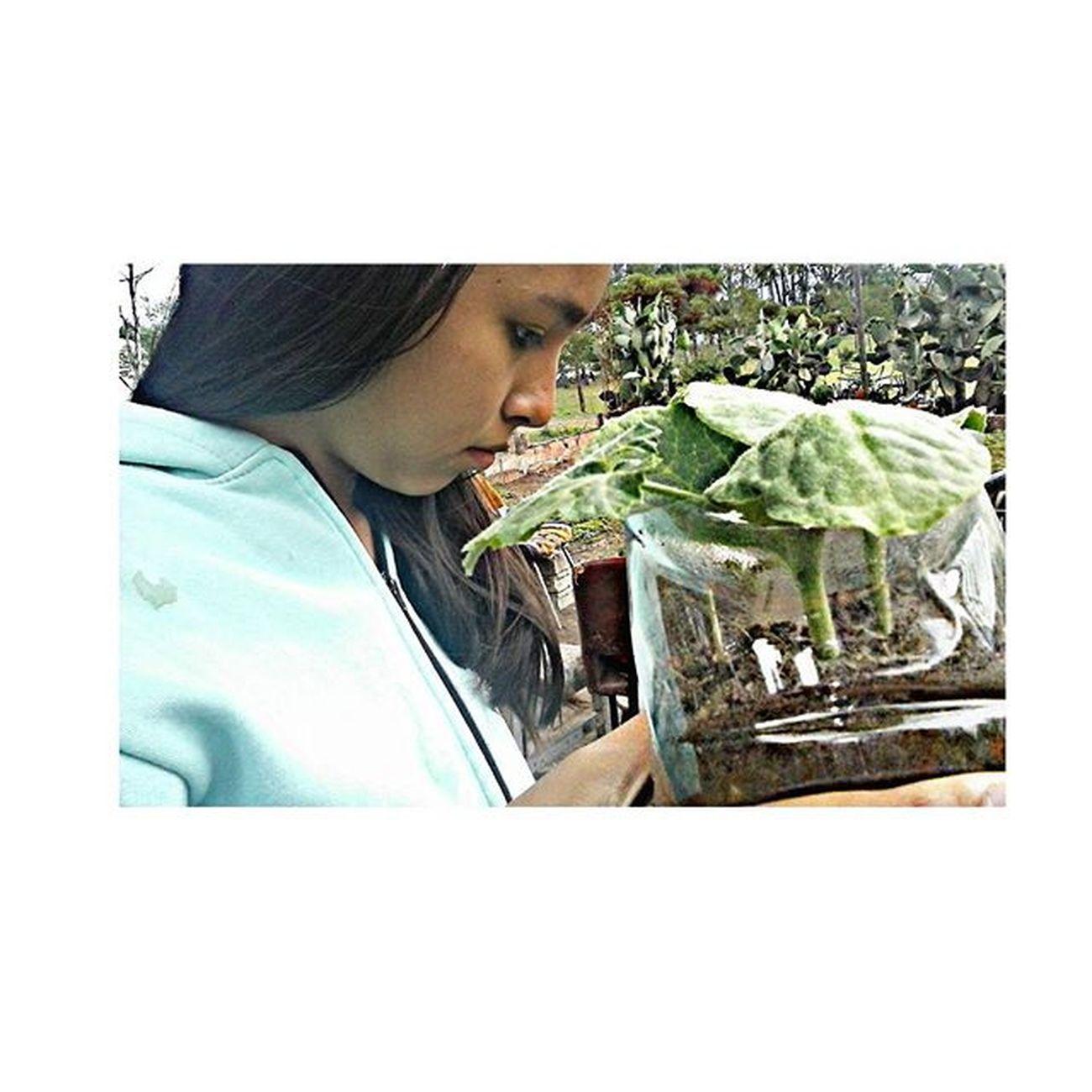 La persona mas importante 👆 Cara de nena 👶👧 Instaphoto Friend Plantas Botánica Vivero Bella 💁 @agus_guada