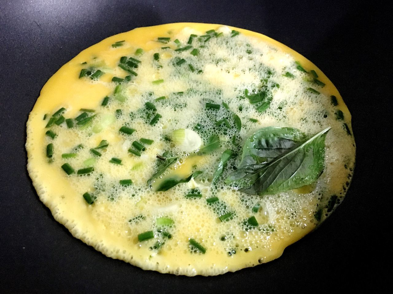 Omlet Yellow Moon Basil Mydinner 😁
