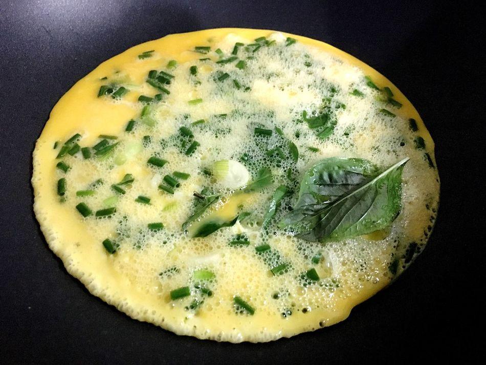 Omlet Yellow Moon Basil Mydinner 😁