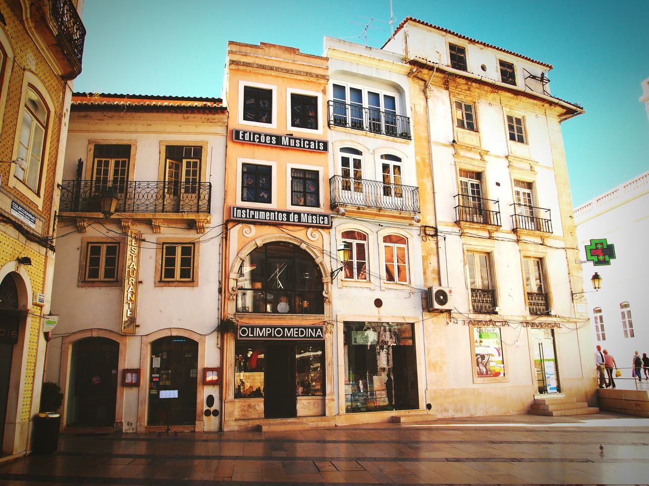 Historic centre of Coimbra, Portugal Building Exterior Façade Old Town Light Colors Decadence Romance Coimbra Portugal Slowlife Oldstyle Takeabreak Calm Stillness EyeEm Gallery Eyeemphotography South Small Square Asymmetry Battle Of The Cities