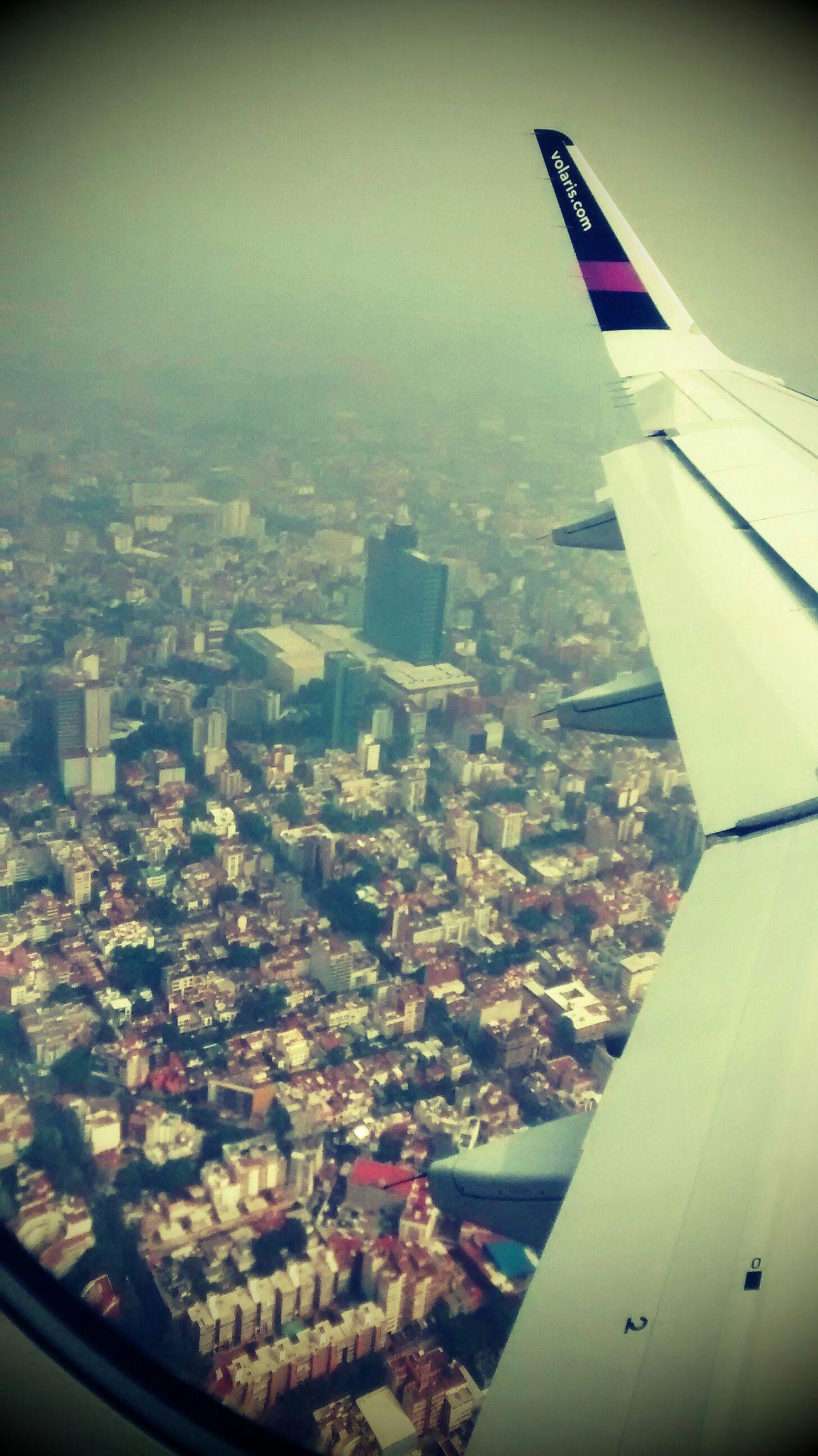 Distrito federal desde los aires Trip Plane