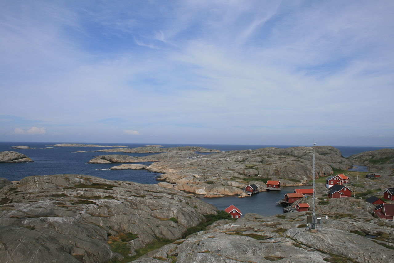 Valö, Fjällbacka Schären Beauty In Nature Cloud - Sky Fishermenvillage Fjallbacka Fjallbacka Fjällbacka SKÄRGÅRDEN Horizon Over Water Leisure Activity Lifestyles Nature Rock Rock - Object Rock Formation Scenics Schwedenhaus Schärengarten Schäreninsel Sea Shore Sky Tranquil Scene Tranquility Vacations Valö Island Water