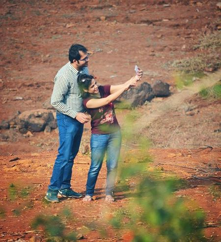 Taking  Selfie Anywhere Is An Art Gagans_photography Instapune Punedairies