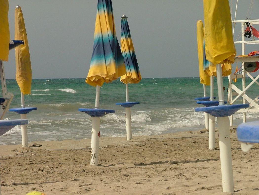 Sea Beach No People Outdoors Landscapes Italy 🇮🇹 Mazara Del Vallo Umbrella Beach Sand Summer Ending