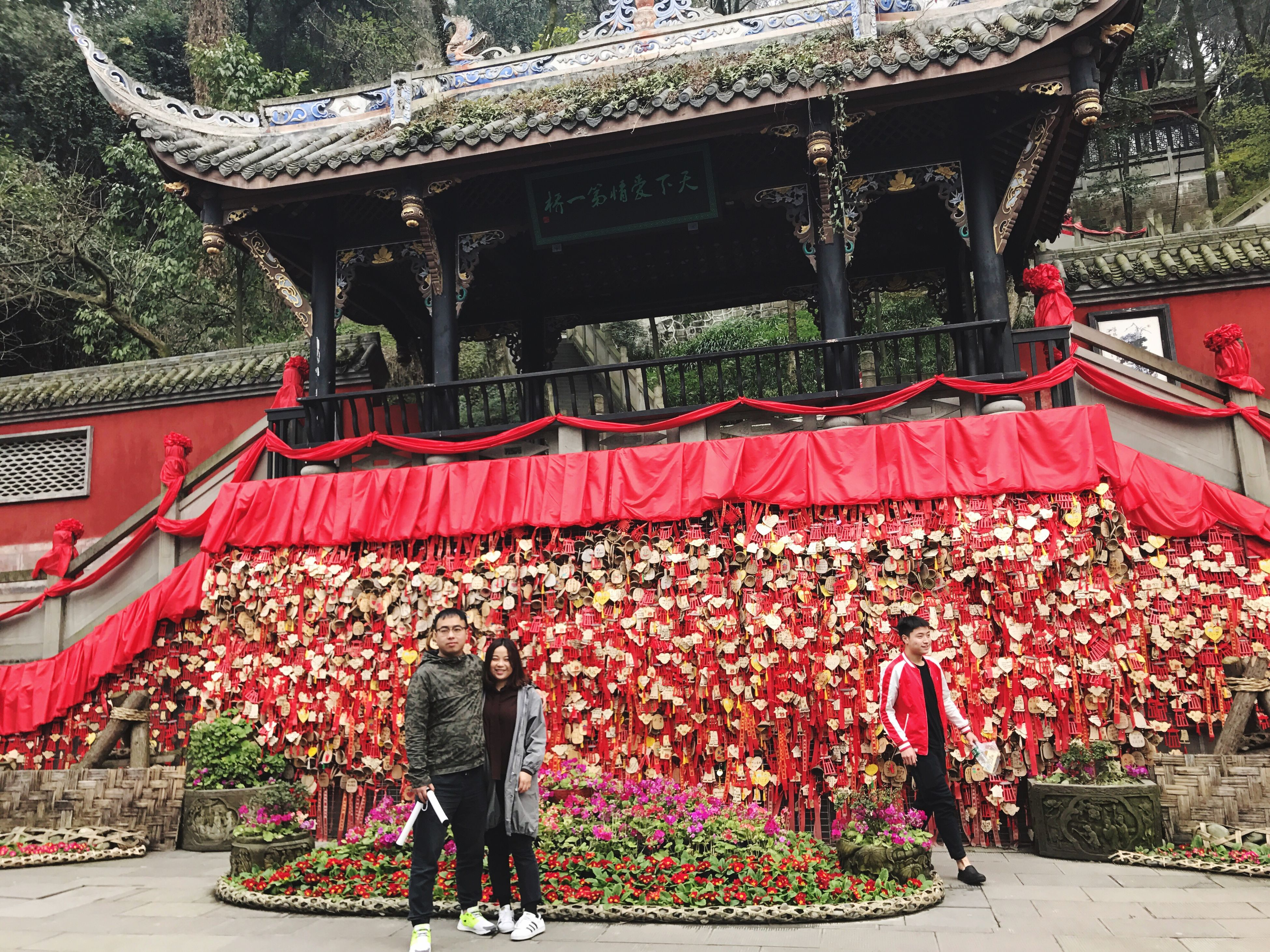 hanging, celebration, illuminated, outdoors, chinese lantern festival, no people, architecture, performing arts event, auditorium, day