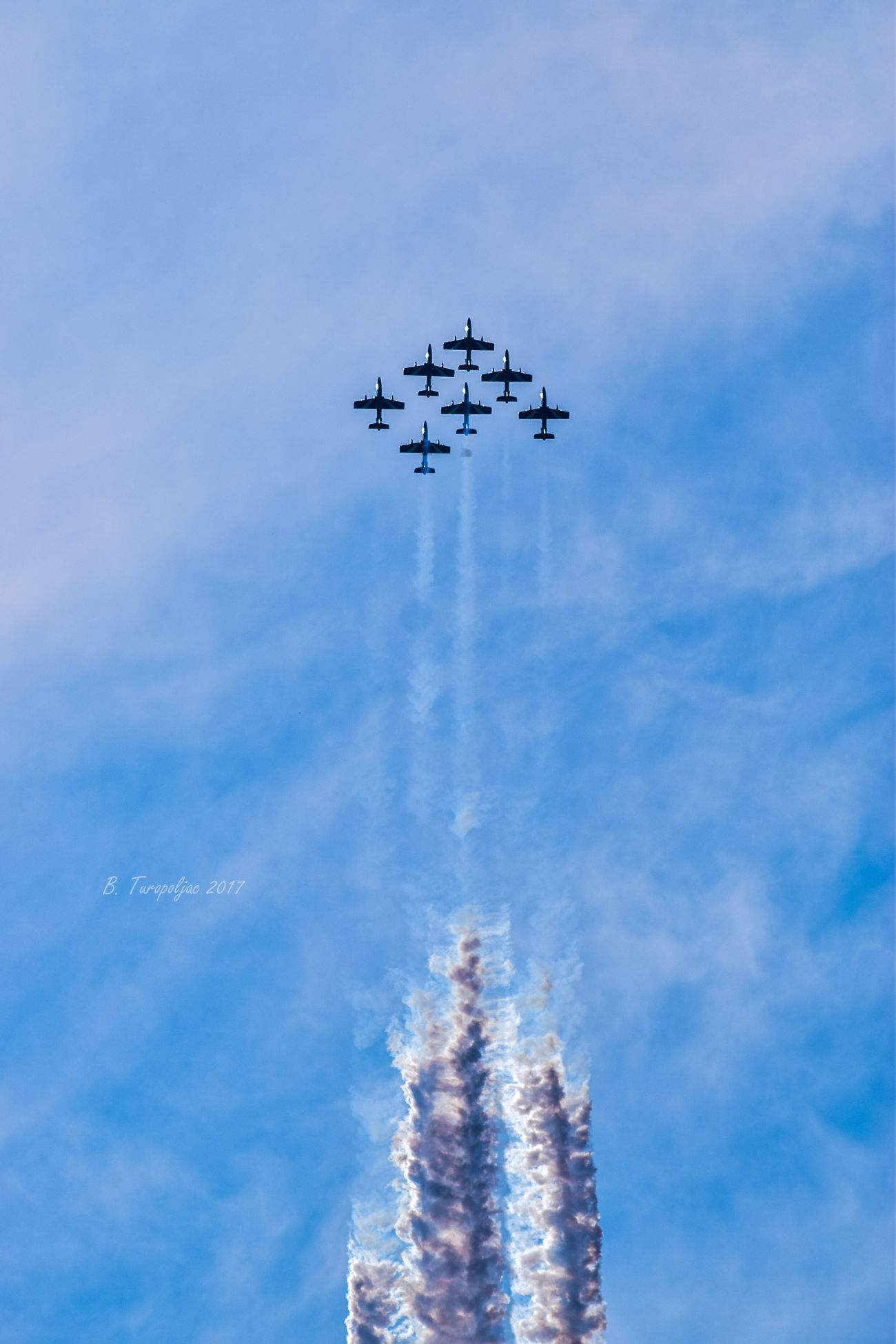 Aerobatics Aerospace Industry Air Force Air Vehicle Airplane Airshow Arrangement Cloud - Sky Day Fighter Plane Flying Mid-air Military Airplane Mode Of Transport Motion No People Outdoors Sky Speed Teamwork Transportation