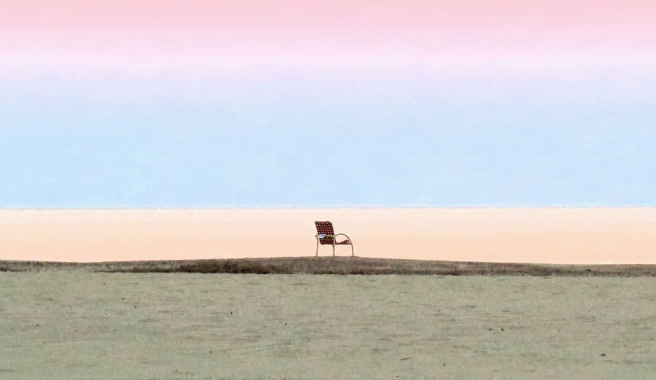 Just before sundown, I noticed a beach chair was left at the shore. The tide was coming in, then I noticed someone also left a book. It looked as if the chair was left all alone at the end of summer Art Is Everywhere Beach Calm Nature Ocean Peace Solitude Summer Zen
