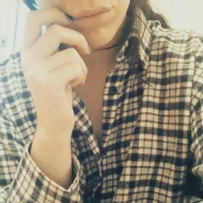AlmostChristmas Notinthemood Selfie Flannel
