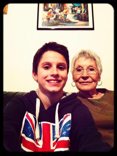 Mamie.. Tu me manque plus que tout ! Je t'aime jusqu'a buzz (photo qui date) ♥️
