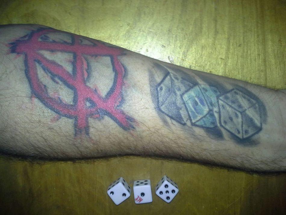 Tattoos 215 Dice Philly Philadelphia United States Of America Altavista, Virginia USA Tupponce Photography David Tupponce Stone & IceAnarchy in 215