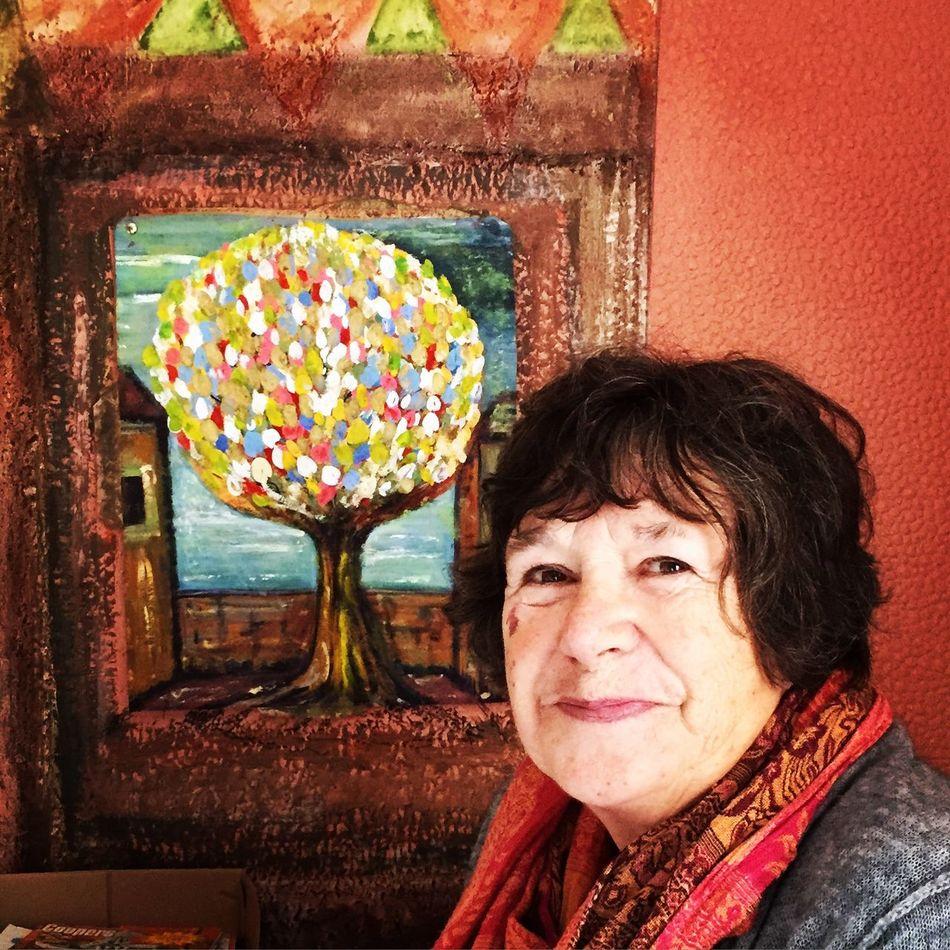 She paints her dreamsDreamscapes & MemoriessWolfe Does UKKUkkNewcastle Upon Tynee Painting