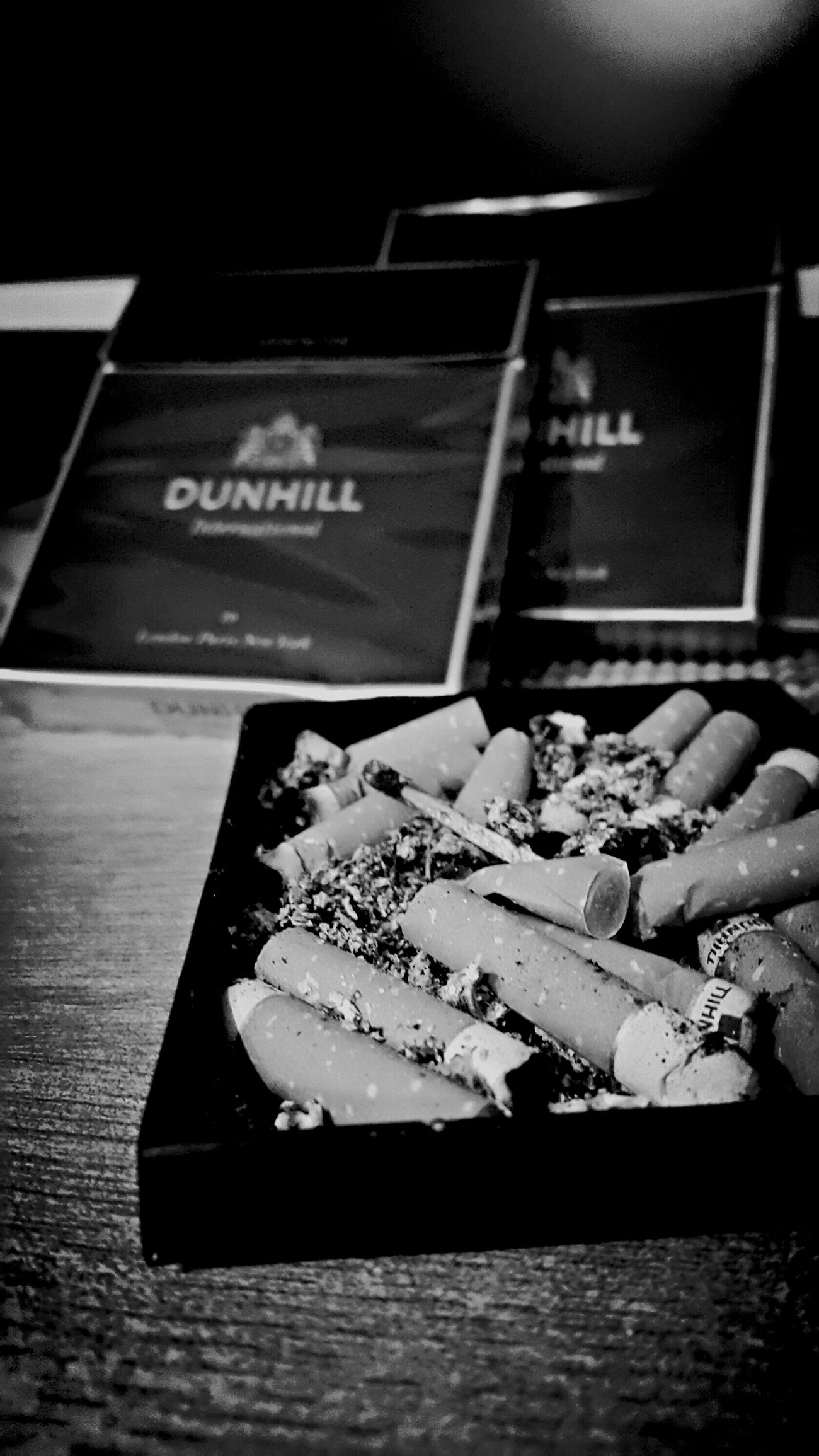 Ashes Dunhill Cigrettes Ash Tray