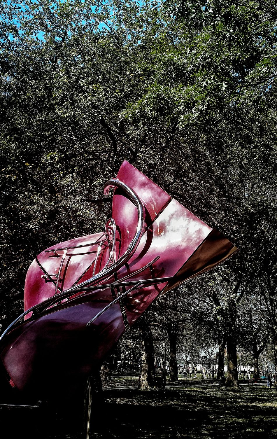 EyeEmonGI Metal Sculpture Nature