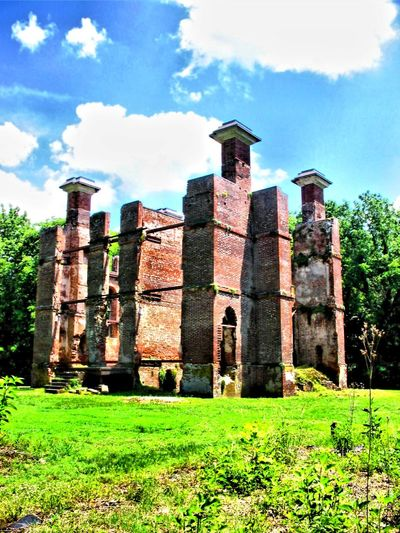 The Ruins of Rosewell Ancient Architectural Column Architecture Built Structure Cloud Cloud - Sky Day Deterioration Grass Grassy Green Color Growth Historical Building History Nature No People Old Old Ruin Outdoors Rosewell Mansion Ruin Run-down Sky The Past Travel Destinations