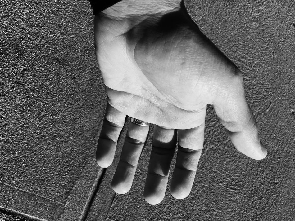 Blackandwhite Human Body Part Close-up The Helping Hand I'll Be There For You