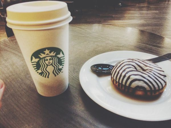 Starbucks Coffee Yummy Delicious Cafe Latte