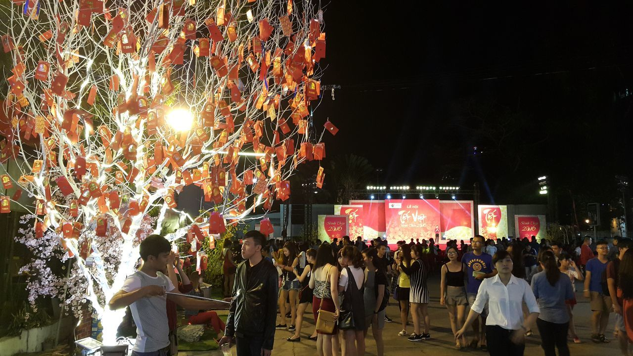 Colors Of Carnival Tet In Saigon Tet Holiday Red
