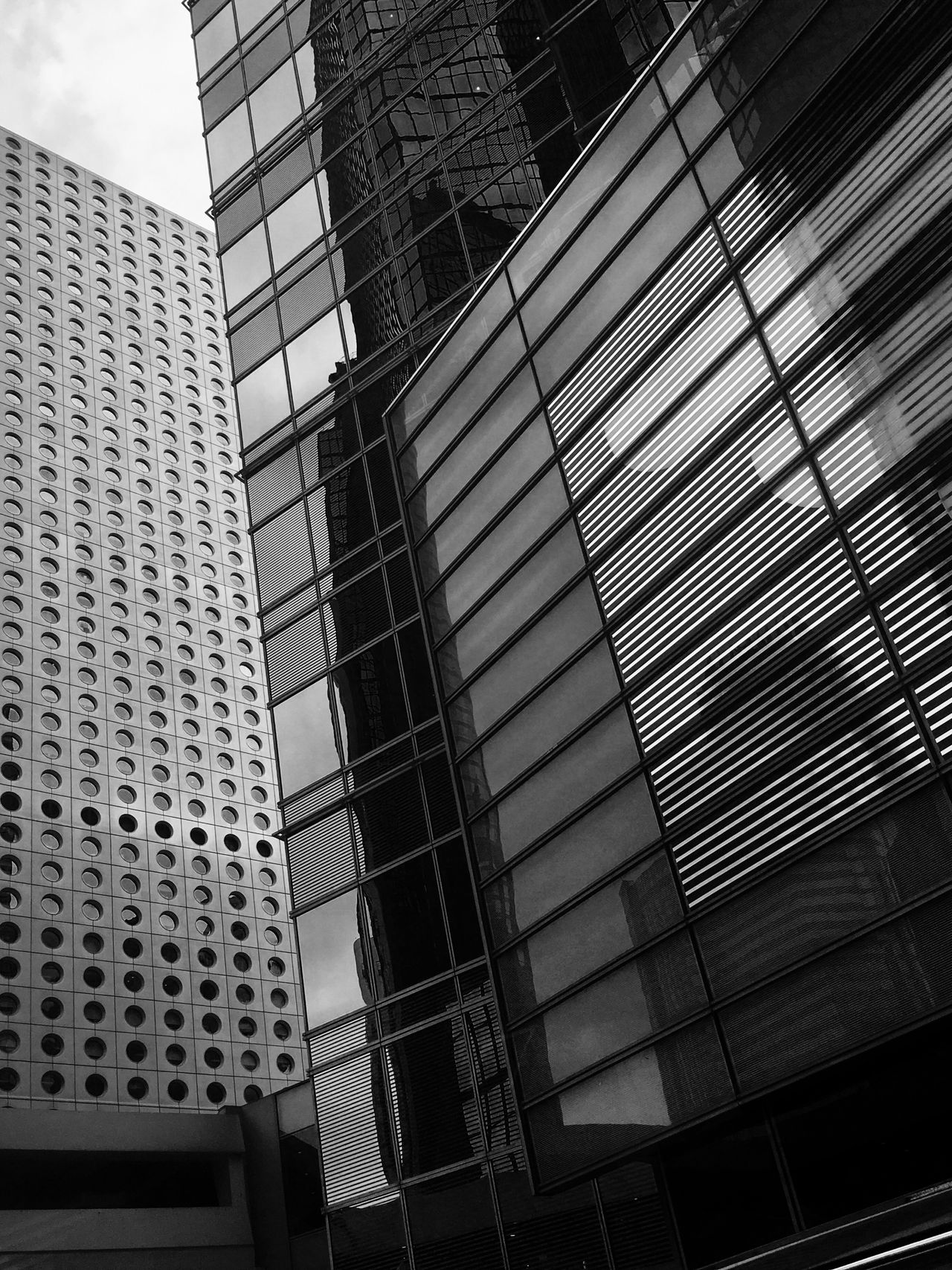 Light And Dark IPhoneography Architecture Contrast Abstract Monochrome Patterns & Textures Cityscape Urban Geometry Contrast Architecture Curtain Walls Reflections And Shadows