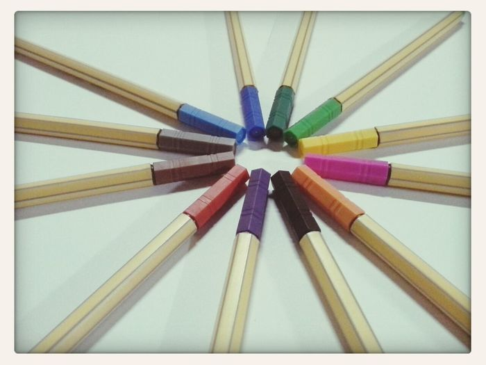 My Creations Pictorial of colored pencils.