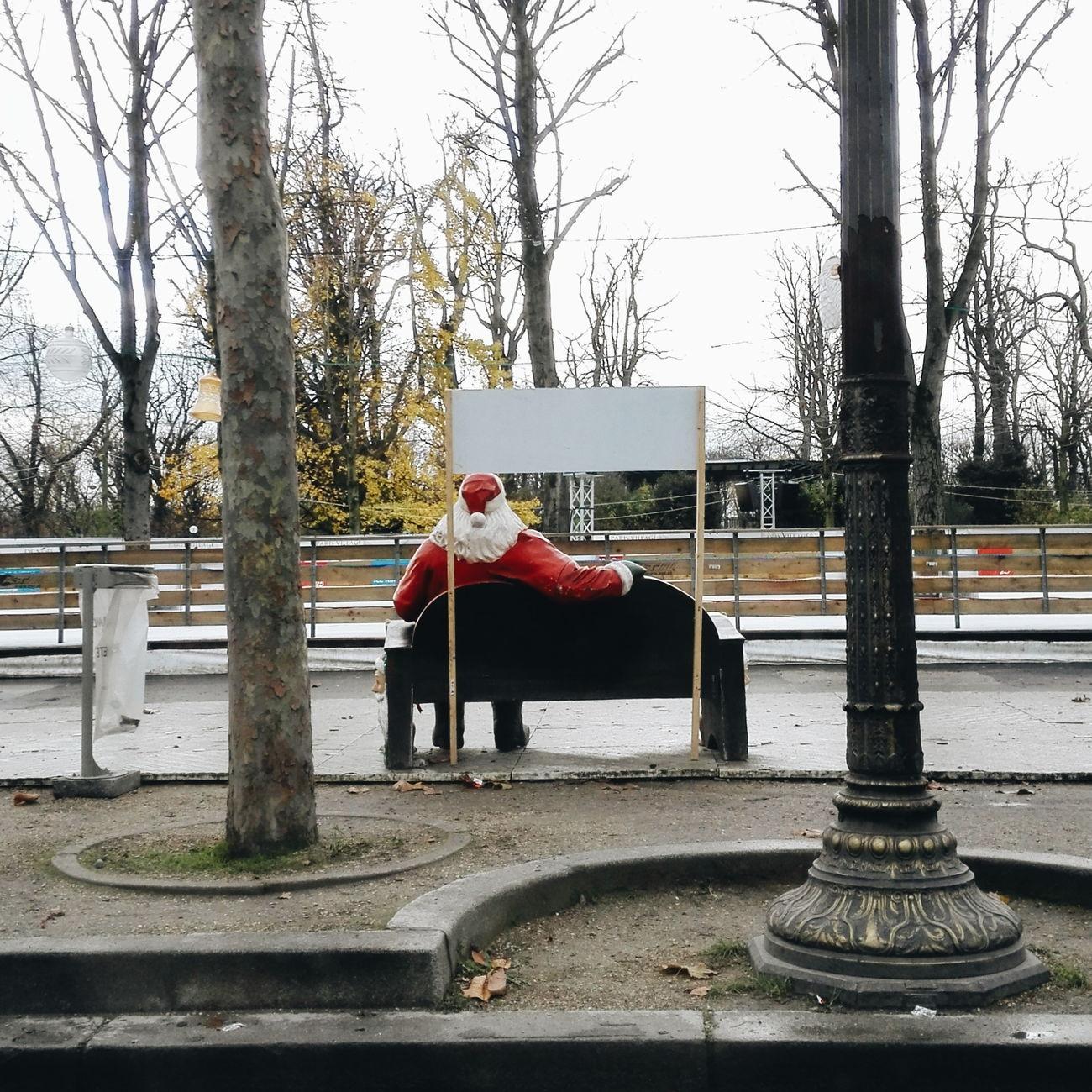 Père Noël Christmas Relaxing Tranquille avant la tempete
