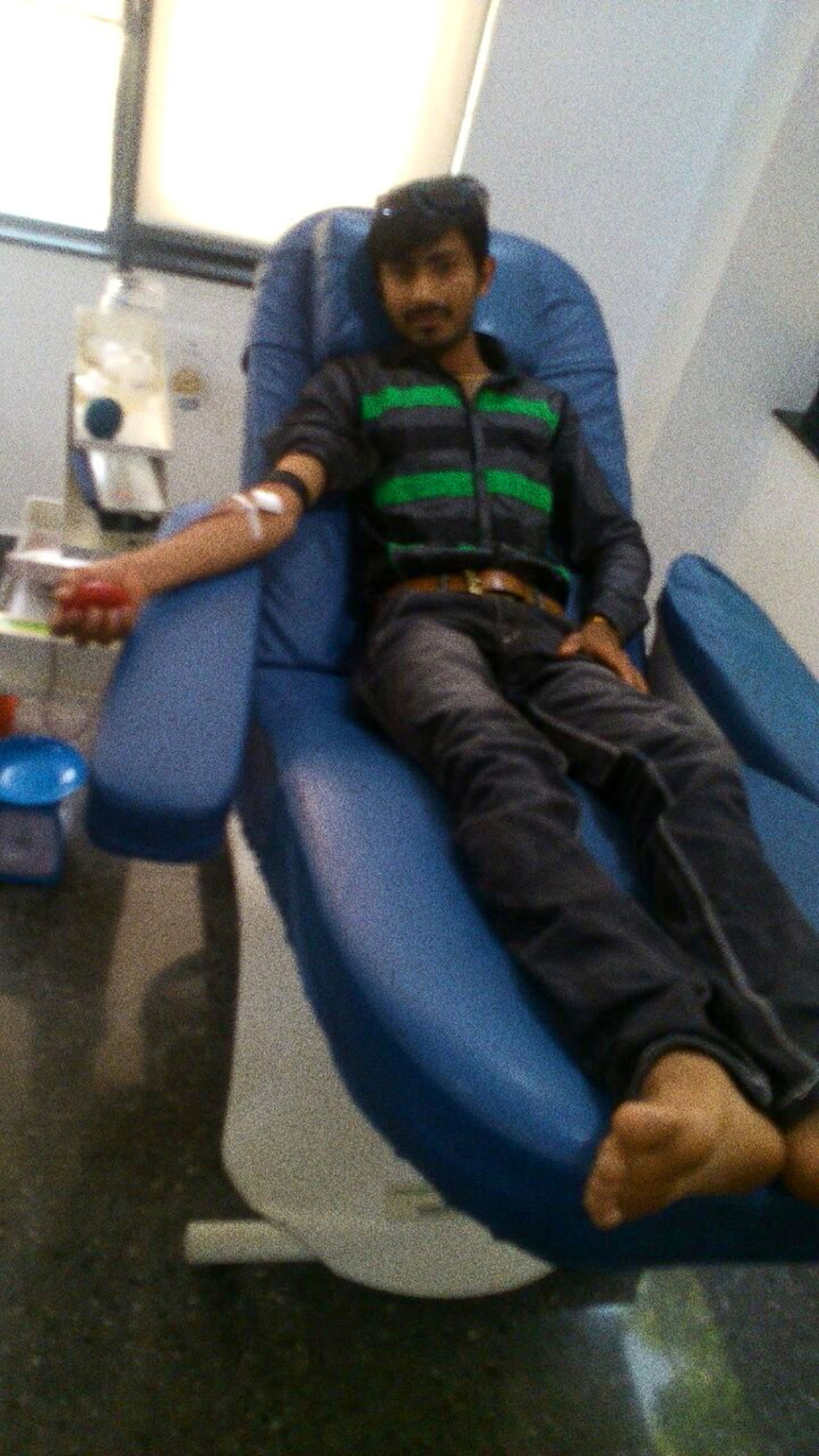 Donating Blood .... Check Up
