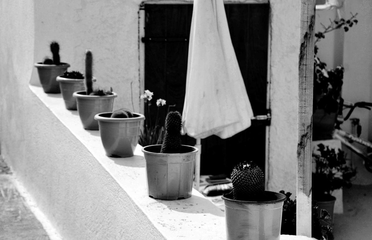 #blackwhite #santorini Architecture Built Structure Close-up No People Outdoors