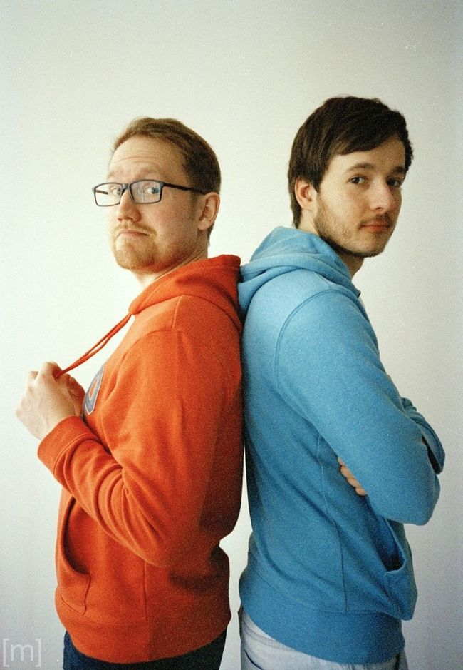Patrick & Peter Portrait Analogue Photography Film Photography Don't Be Square