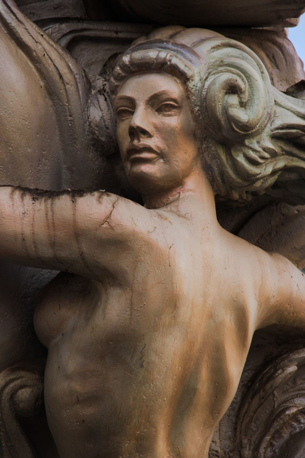Art And Craft Statue Sculpture Close-up No People Day Outdoors Sailing Ship Sailboat Ship Sailing Sailboats Pirate Ship Pirates Woman Womanity