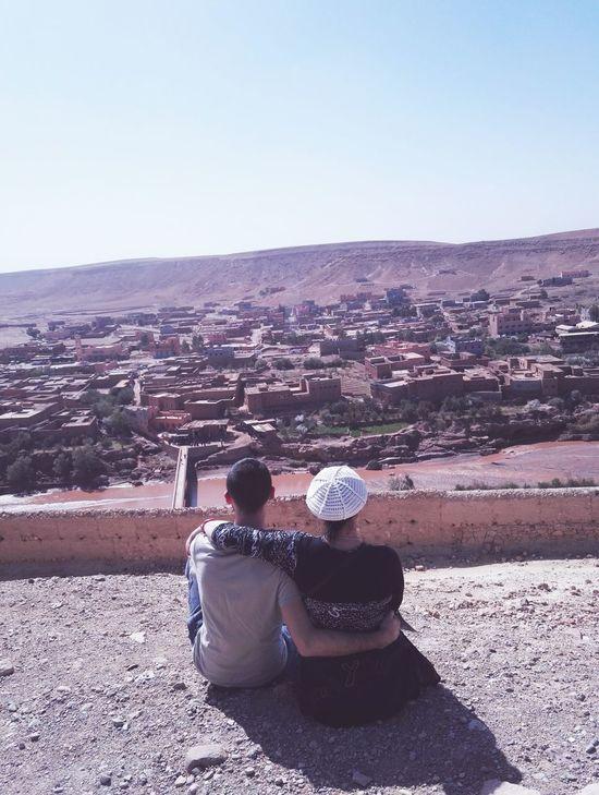 Landscape Architecture Berber  City View Aitbenhaddou Morroco Mumandson Family FamilyTime