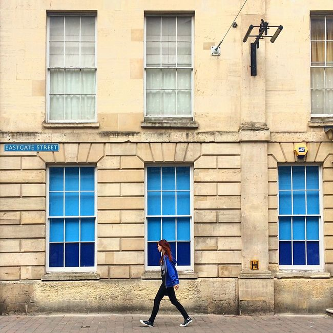 Gloucester Eastgate Street Street Woman Building Walking Architecture Sidewalk Streetphotography England