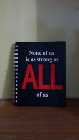 Quotes Archies Diary None Of Us Is As Strong As All Of Us