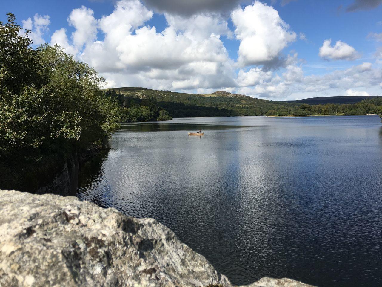 Burrator Reservoir Burrator Reservoir Nature Water Sky Scenics Beauty In Nature Cloud - Sky Tranquil Scene EyeEmNewHere
