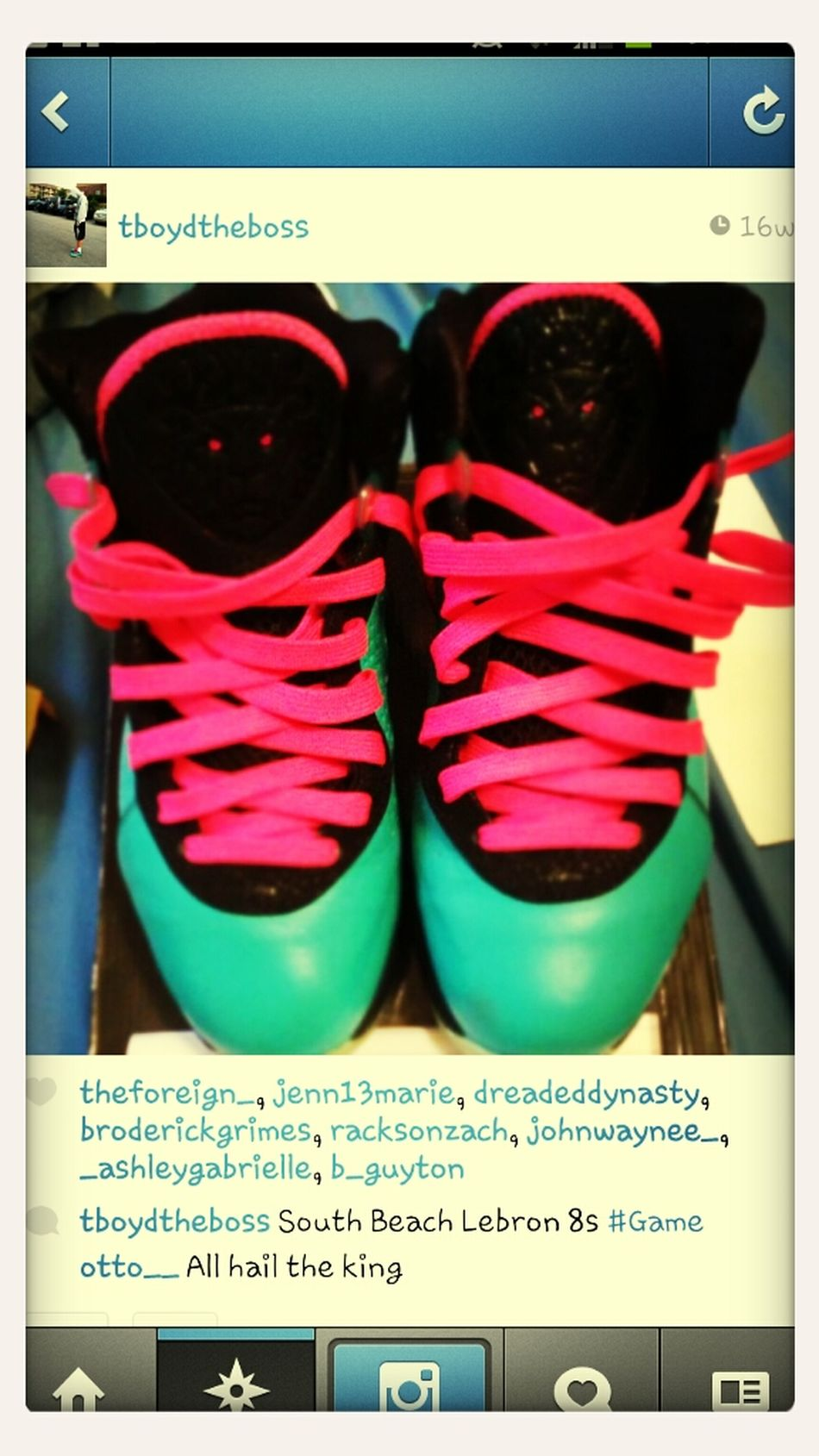 Got To Cop The Lebrob South Beach 8s