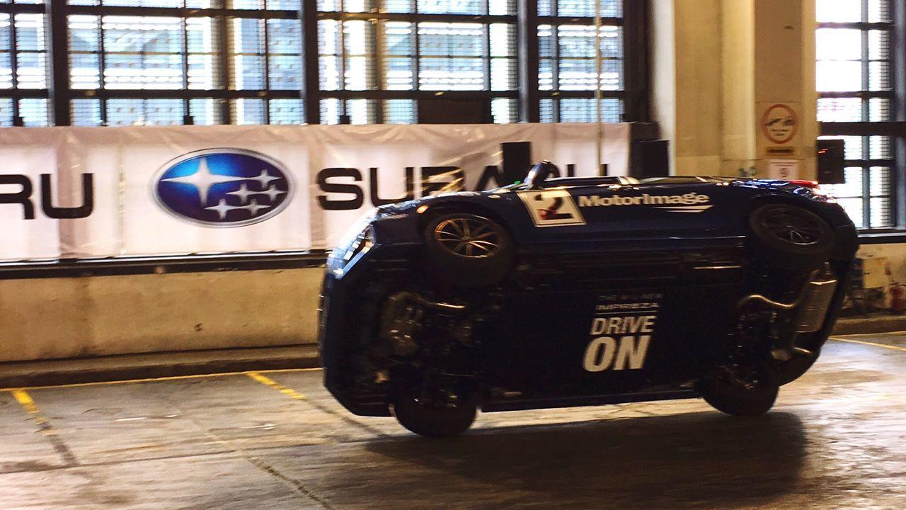Subaru Wrx Subaru Two Wheels Are Better Than Four Balancing Act Car