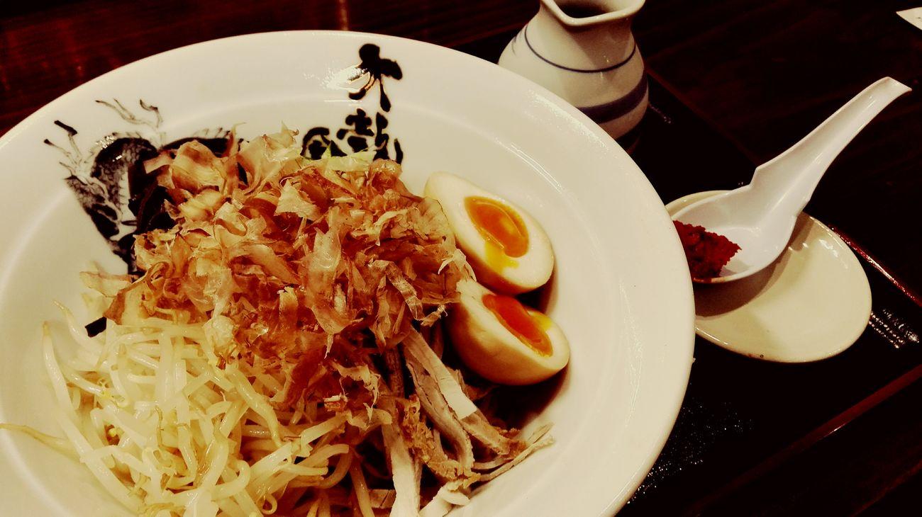 冷やしぶっかけ Ramen Noodle Ramentime🍜 Ramen Shop Foodphotography Japanese Food Dinner Kurume Fukuoka,Japan Yammy!!