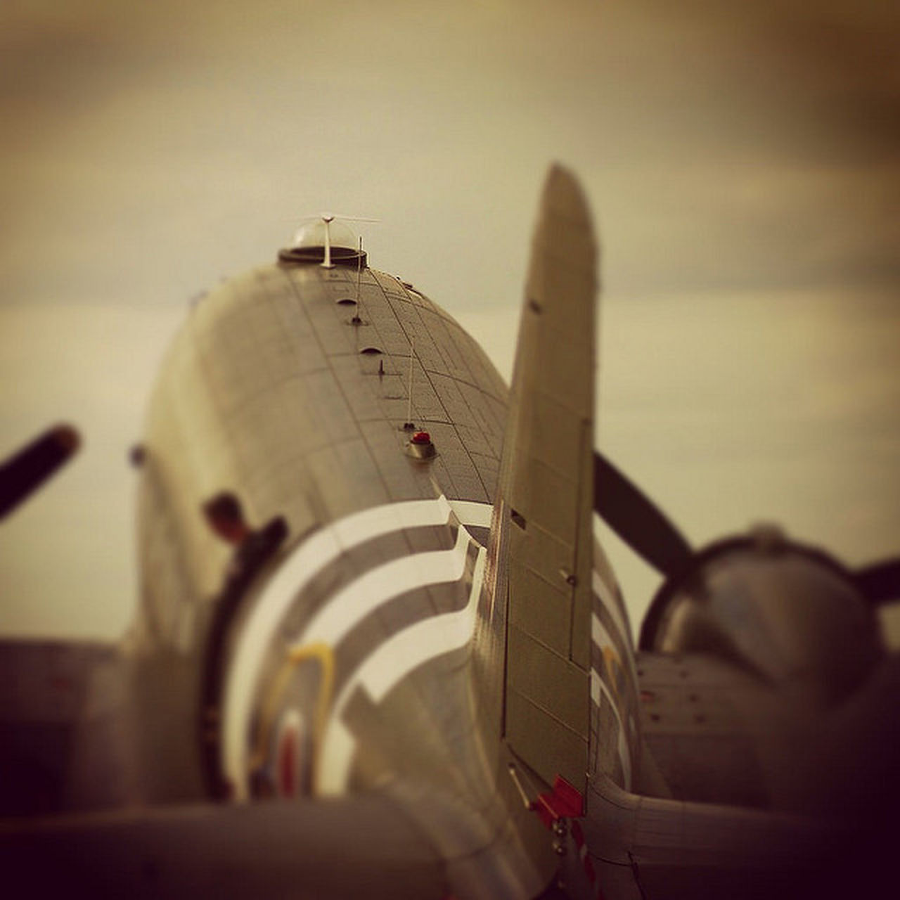 Airplane Aircraft Wing Transportation Battle Of Britain Flight DC3 Dakota  Ww2 Plane Southend On Sea