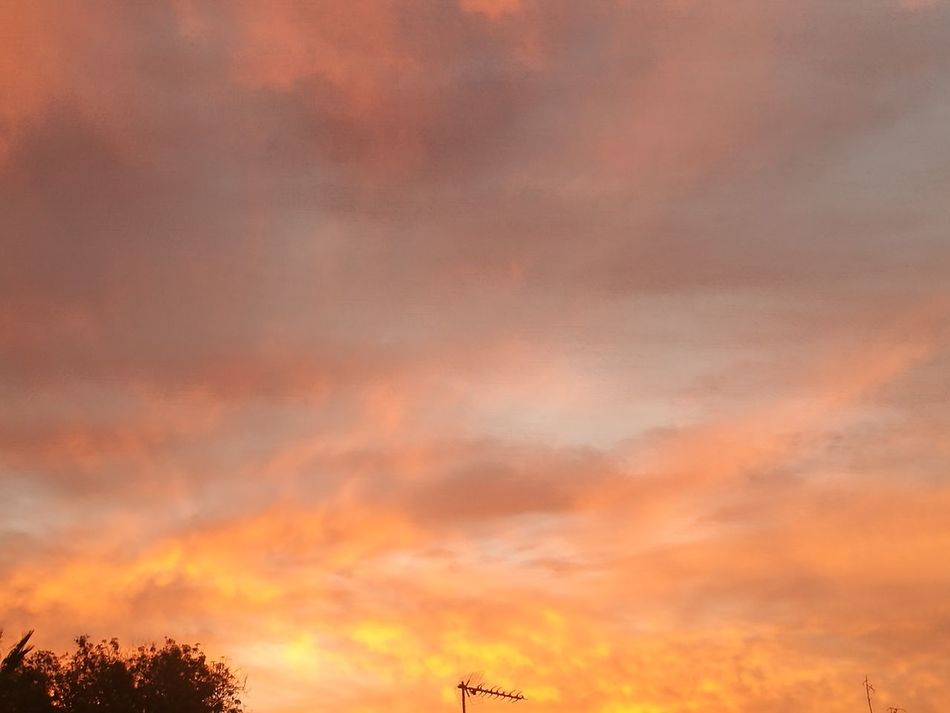 What a view, God bless you Nature Outdoors Dramatic Sky Red Sky By My Cam