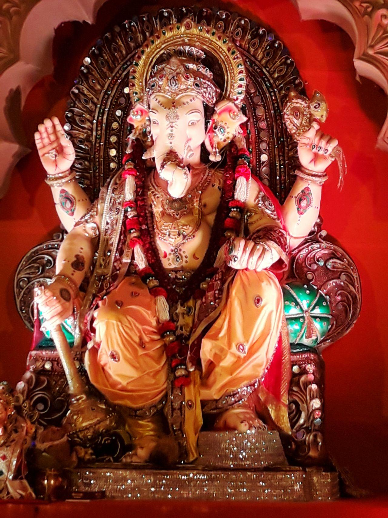Ganpati bapa moriya.. Religion Culture Day