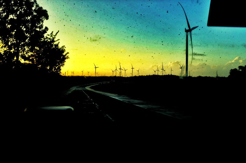 EyeemPhilippines Eyeem Philippines Along The Road Alongtheroad Windmills On The Way