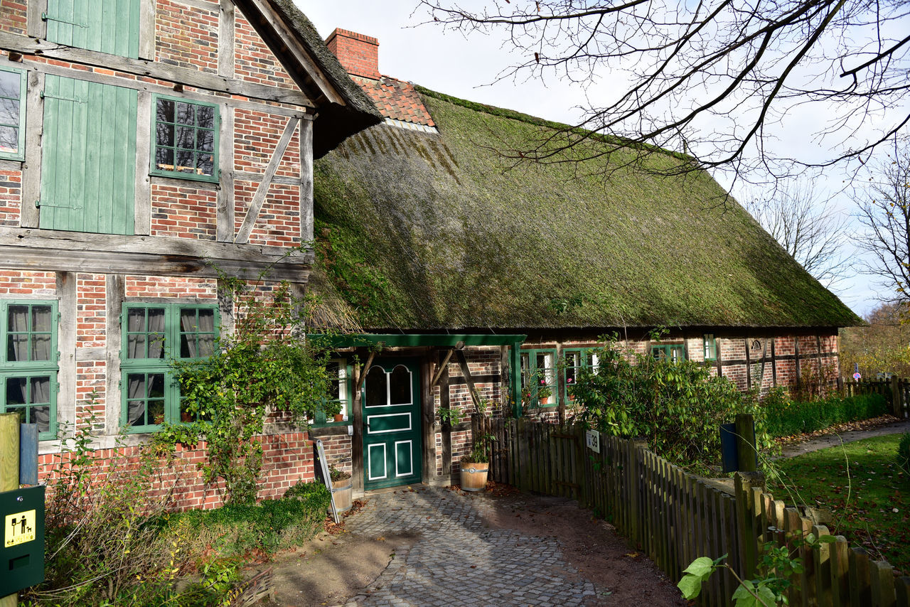 Altes Bauernhaus bei Hamburg Architecture Bauernhaus Building Exterior Eye4photography  EyeEm Best Shots EyeEm Gallery EyeEm Masterclass House No People
