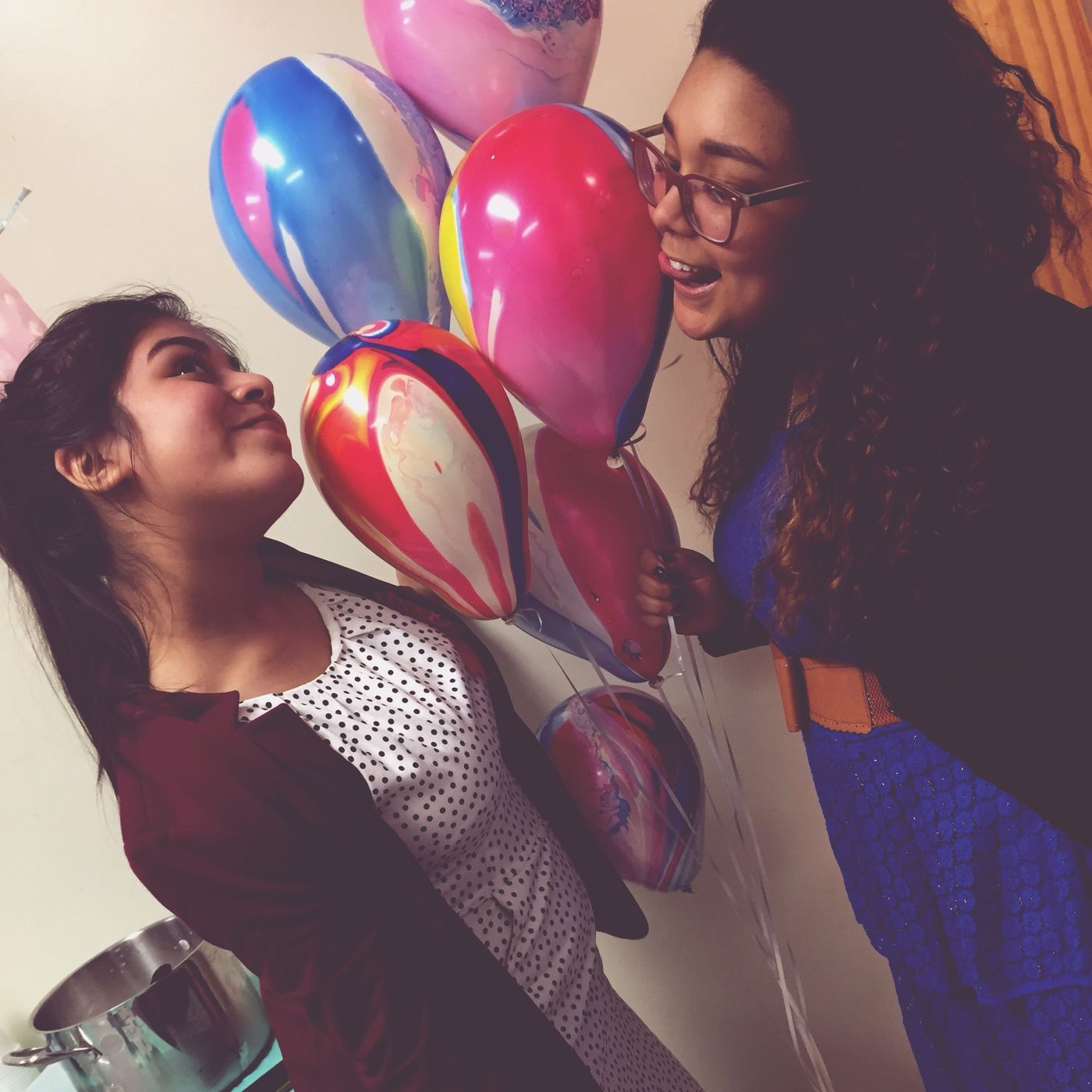 Friends Surprise Birthday Party Balloons Fun