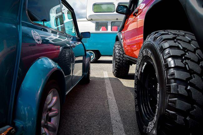 LittlenBig Littleandbig British Mini Land Rover Range Rover Wheels Tyres BIG Little Car Classic Classic Car Colour Of Life ColourOFlife Colour