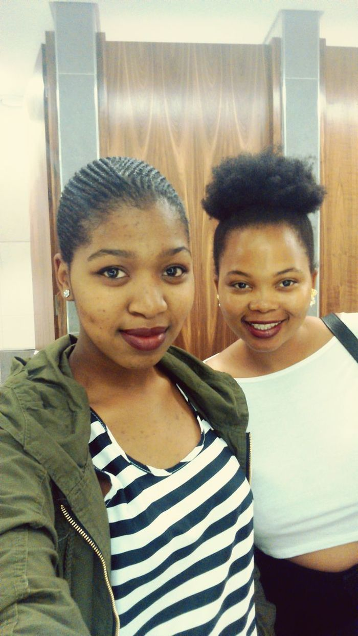 """Day out with Solero a.k.a The """"Boss Zonke"""" chick 😂😂 Celebrity Smiles Friendship DayOneNigga Lunch The Zone @ Rosebank Happiness"""
