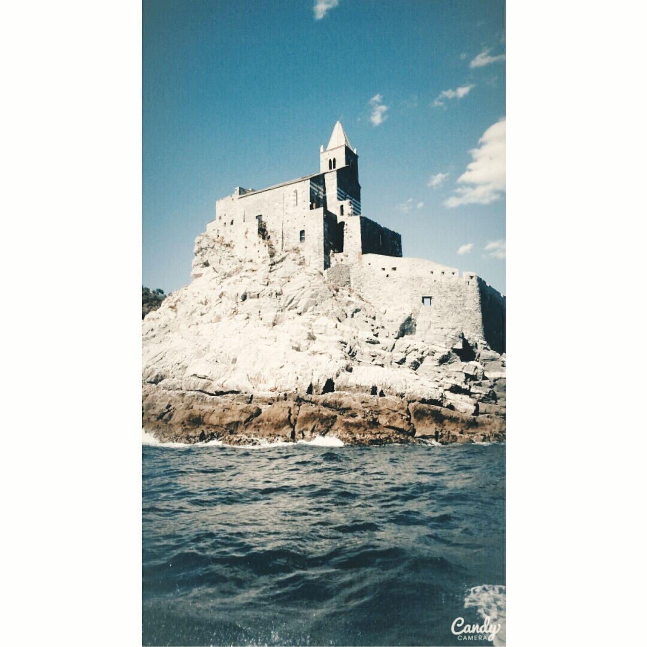 Portovenere♡ SanPietro Chiesa Sea Love♡ Laspezia Sunshine💛 Sun ☀ Sea And Sky Barca <3