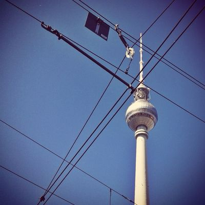 TV tower at Alexanderplatz by Thorsten Scholz