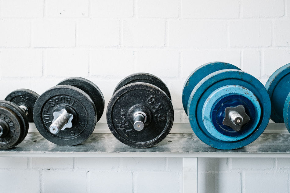 Arrangement Choice Collection Culture Evolution  Fitness Fitness Training Fitnessmotivation Heavy Hometraining In A Row Large Group Of Objects Man Made Object Medium Group Of Objects Muscle No People Order Power Repetition Sport Training Variation Weights