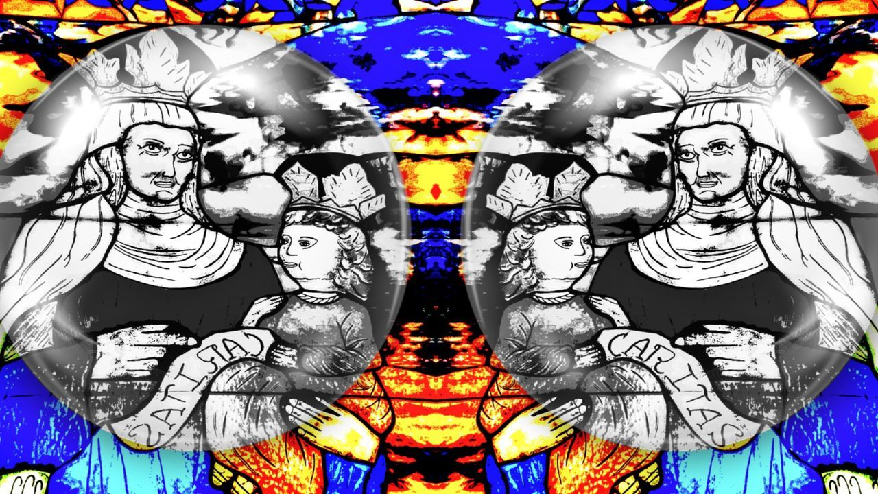 Freestylephotography Creative Photography Artistic Religion And Beliefs Man Made Object Religious Art Stained Glass Church Enjoying Life Smartphonephotography