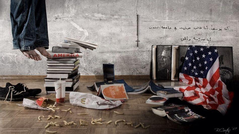 United States Politics Still Life © b.cortis www.cortis.info